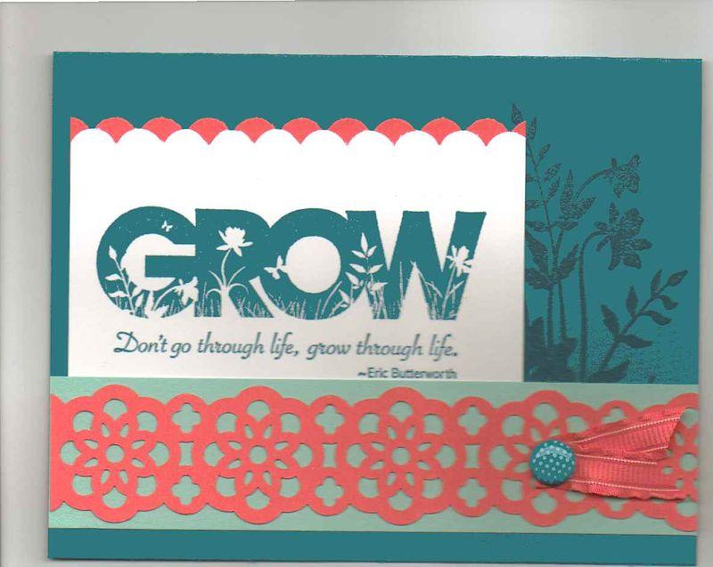 Grow card