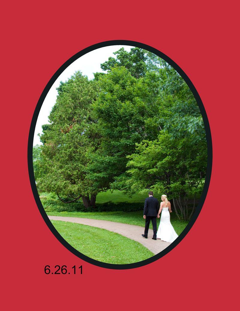 K&C Wedding Album-Front