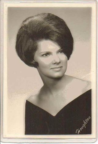 1968 Graduation pic of Nancy Lillie